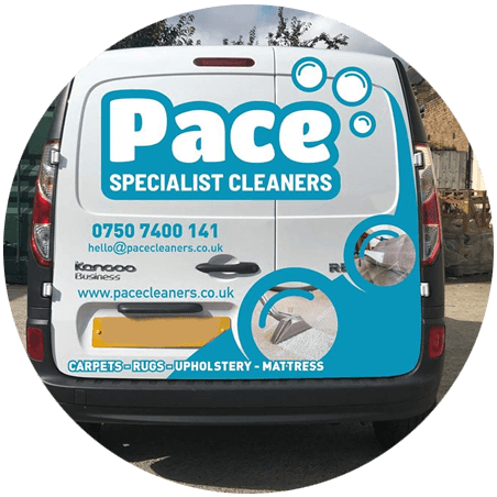 Pace Specialist Cleaners Van